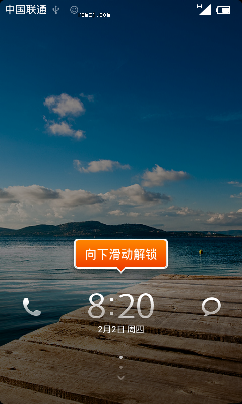 来自Australian的MIUI v4 For HTC Desire截图