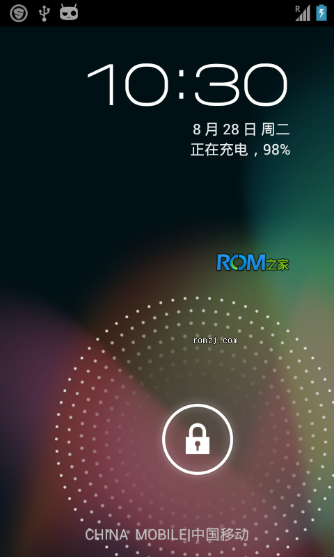 [Nightly 2012.10.27 CM10] Cyanogen 团队针对三星 T959定制ROM截图