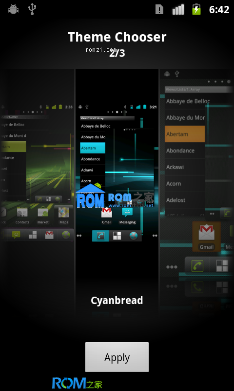 [Nightly 2012.11.04] Cyanogen团队针对HTC Incredible 2 定制ROM截图